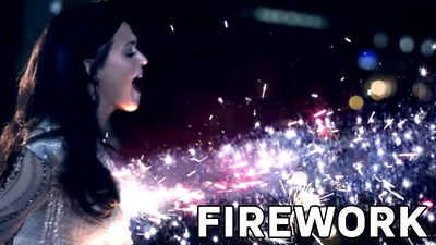 2. Katy Perry - Firework