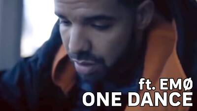 2. Drake feat. Emø - One dance
