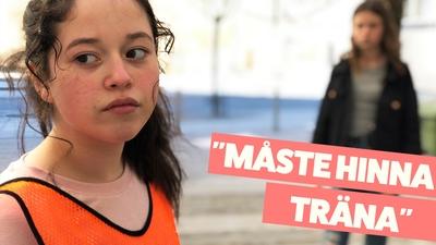 Nadia – Vill hinna träna