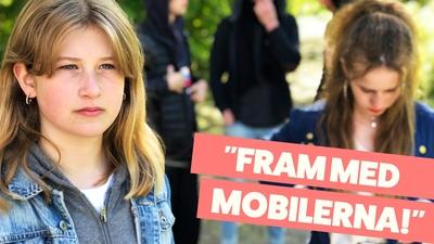 Denise – Fram med mobilerna!