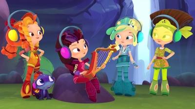 Den magiska harpan