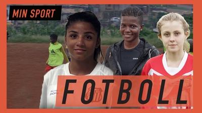 De kämpar för att få spela fotboll
