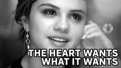 Selena Gomez - The heart wants what I want
