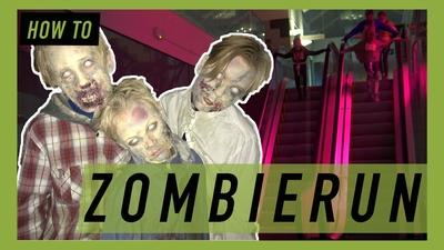Varning för zombies!