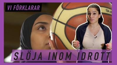 Vi pratar slöja med futsalspelarna Adna och Kafia