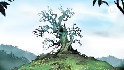1. Den döda almen