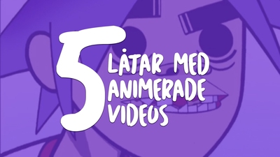 Animerade musikvideor