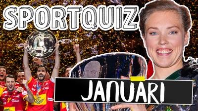 Sportquiz januari - testa dina sportkunskaper!