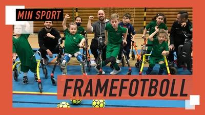 Sveriges första framefotbollslag!