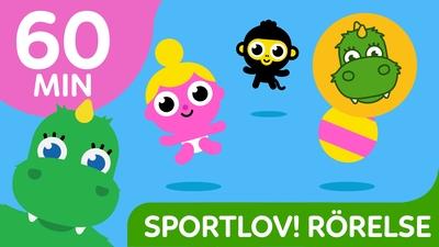 Mixade favoriter: Sportlov! Rörelselekar - 60 min