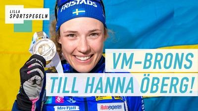 Hon fixade medalj på skidskytte-VM!