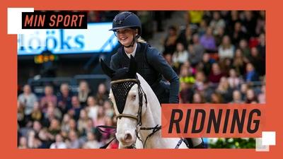 Hoppning på Göteborgs Horse Show