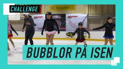 Kan du göra bubblor på isen?