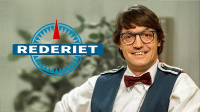 Skådespelaren Johannes Brost i rollen som bartendern Torbjörn Jonasson även kallad Joker i Rederiet.
