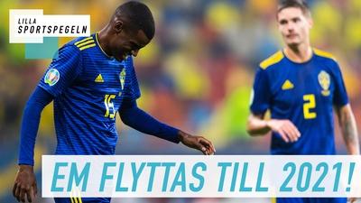 Fotbolls-EM flyttas på grund av coronavirsuet