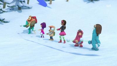 Stora snö-sportdagen