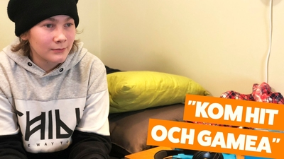 Hampus – Kom hit och gamea!