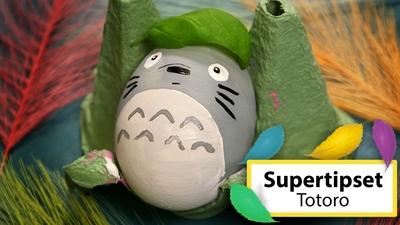 Måla påskägg: Totoro