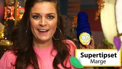 Måla påskägg: Marge från Simpsons