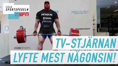 Hafthor Julius Bjrönsson lyfte 501 kilo!