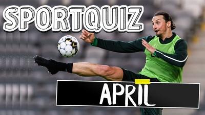 Sportquiz april - testa om du hängt med!