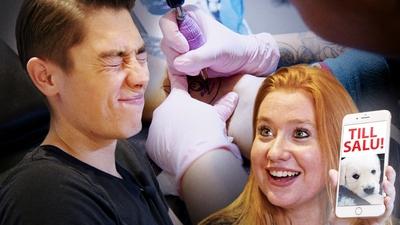 Alex tatuerar sig