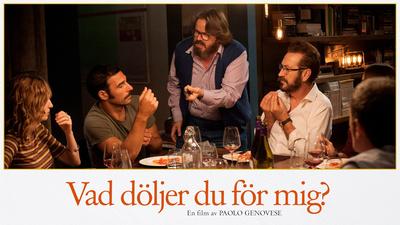 Bianca (Alba Rohrwacher), Cosimo (Edoardo Leo), Peppe (Giuseppe Battiston) och Rocco (Marco Giallini). - Vad döljer du för mig?
