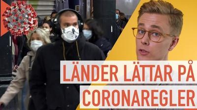 Flera länder ändrar Coronaregler