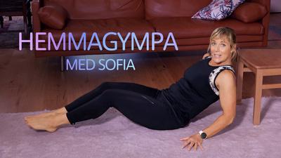 Hemmagympa med Sofia.