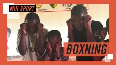 Boxning förändrar livet för tjejer i Kenya