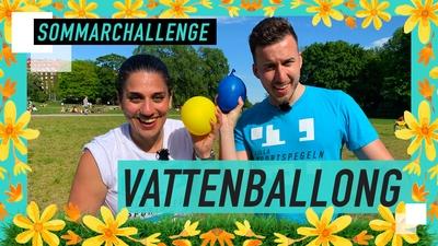 SOMMARCHALLENGE: Hur långt kan ni kasta en vattenballong?