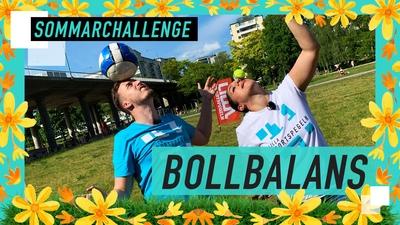 SOMMARCHALLENGE: Kan du balansera en boll på huvudet?