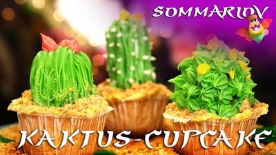 Kaktus-cupcake