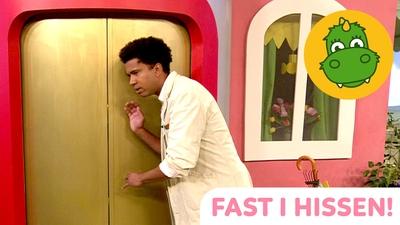 Fast i hissen!