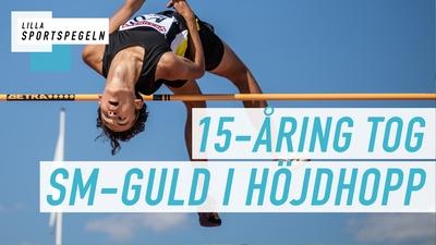 Melwin Holm yngsta höjdhoppsmästaren någonsin!