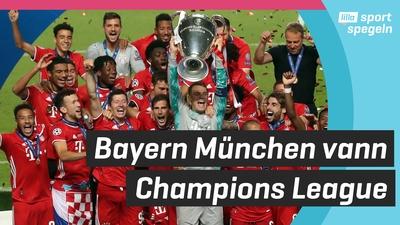 Historiskt Bayern tog sjätte CL-titeln!