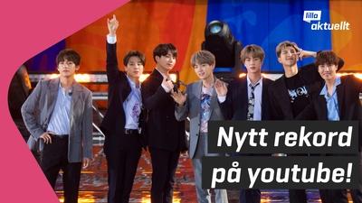 BTS slår nytt rekord