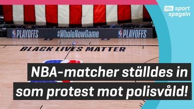 Stjärnorna protesterar mot polisvåldet i USA