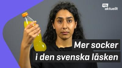 Varför har svensk läsk mer socker?