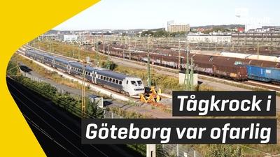 Tågolycka i Göteborg