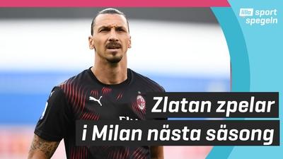 Zlatan stannar i Milan