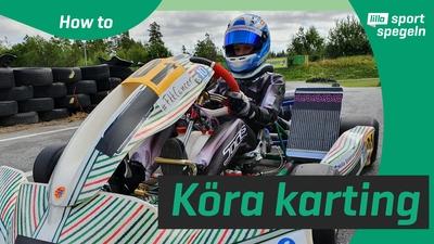 Lär dig hur man kör karting!