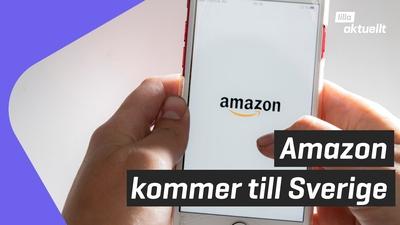 Amazon kommer till Sverige