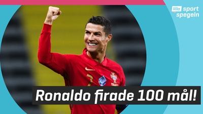Ronaldo jagar rekord i gjorda landslagsmål!