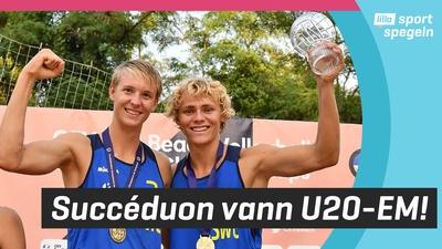 Hellvig och Åhman tog EM-guld i beachvolleyboll!