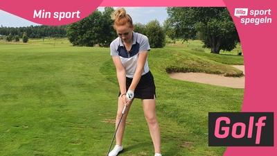 Golfen betyder mycket för Matilda!