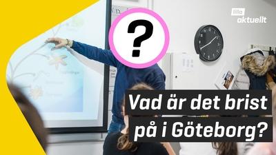 Vad är det rekordstor brist på i Göteborg?