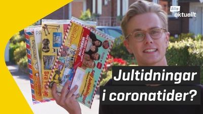 Kan man sälja jultidningar i coronatider?