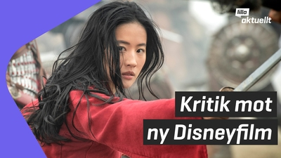 Kritik mot nya Mulan-filmen