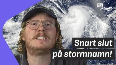 Stormrekord på Atlanten